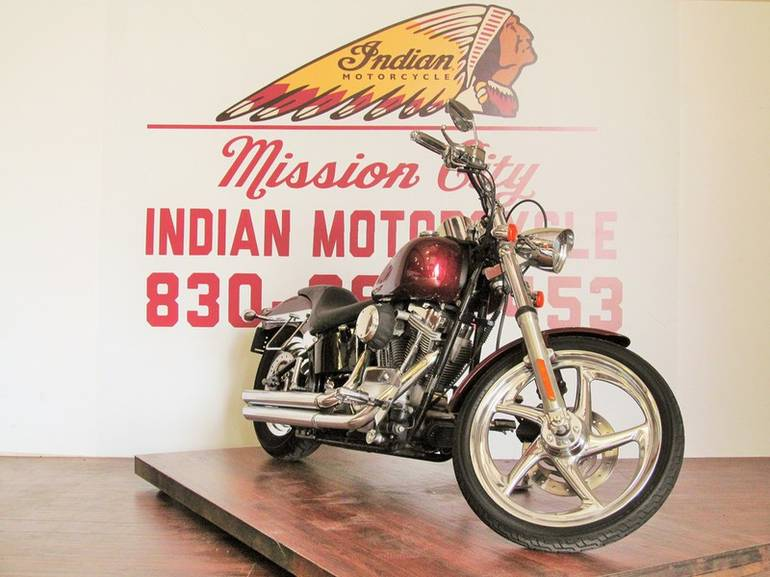 Used Harley Davidson Wheels >> Used 2005 Harley Davidson Fxsti Softail Standard Chrome