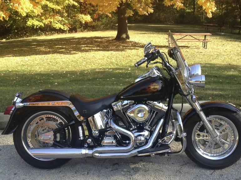 View and download more high definition pictures Harley-Davidson Fat Boy , 2003 Used motorcycles transaction price