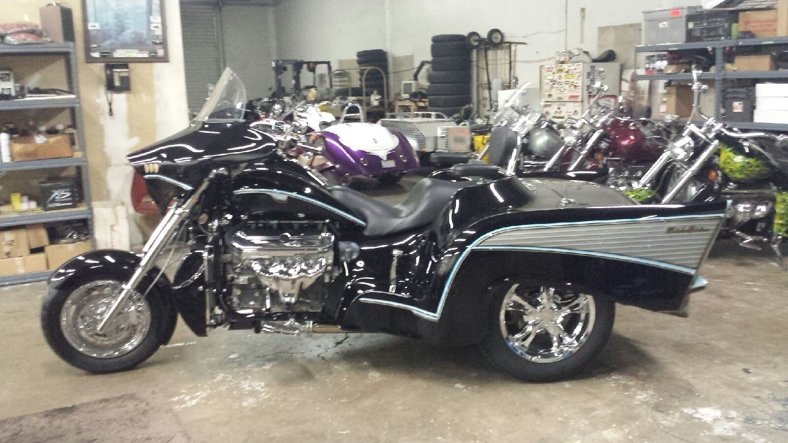 Boss Hoss Chevy Trike Motorcycles For Sale