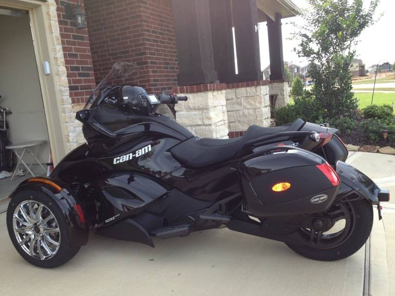Spyder Motorcycle For Sale >> Used 2013 Can Am Spyder St Limited Trike Transaction Price