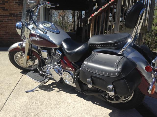 Used 2003 yamaha road star transaction price 4 100 for Yamaha of knoxville